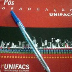 Photo taken at UNIFACS - Universidade Salvador by Leti L. on 12/21/2012