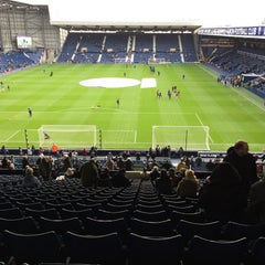 Photo taken at The Hawthorns by Mark E. on 12/5/2015