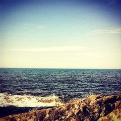 Photo taken at Praia de Itapoá by Djessica D. on 4/27/2013