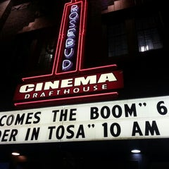 Photo taken at Rosebud Cinema Drafthouse by Barry C. on 10/13/2012
