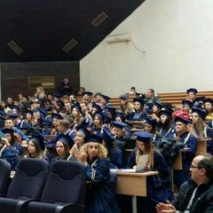 Photo taken at Филозофски факултет by Eleonora . on 12/22/2015