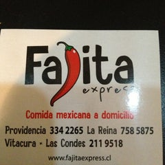 Photo taken at Fajita Express by Edgar D. on 1/18/2013