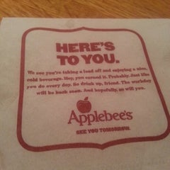 Photo taken at Applebee's by Remy P. on 1/4/2013