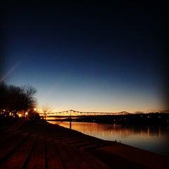 Photo taken at Harris Riverfront Park by Shadowdar N. on 1/18/2015