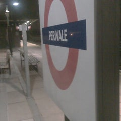 Photo taken at Perivale London Underground Station by Martine N. on 2/8/2013