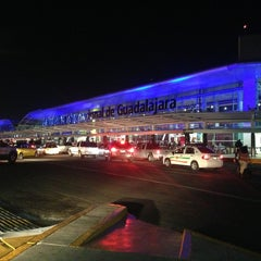 "Photo taken at Aeropuerto Internacional de Guadalajara ""Miguel Hidalgo y Costilla"" (GDL) by RicarDo A. on 8/12/2013"