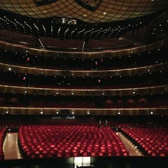 Photo taken at New York City Ballet by Fa T. on 1/23/2013