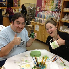 Photo taken at Color Me Mine - Howard Hughes by Bill L. on 2/24/2013