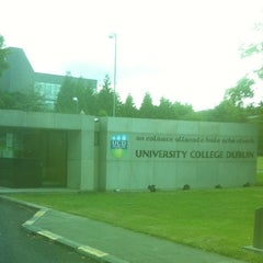 Photo taken at University College Dublin by Соня З. on 7/28/2013