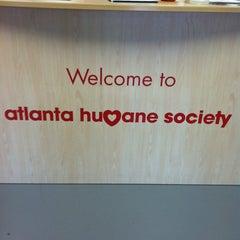 Photo taken at Atlanta Humane Society by ed p. on 10/13/2012