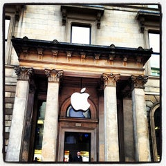 Photo taken at Apple Store, Buchanan Street by Kevin D. on 3/12/2013