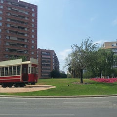 Photo taken at Plaça de Granollers by Jordi C. on 7/17/2013
