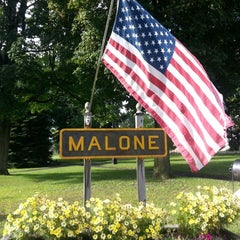 Photo taken at Malone, NY by Ali C. on 8/4/2013