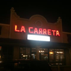 Photo taken at La Carreta by Cass C. on 1/28/2013