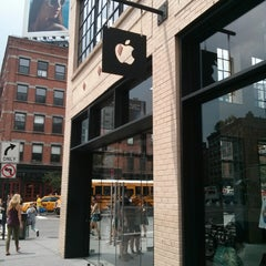 Photo taken at Apple Store, West 14th Street by Cass C. on 7/10/2013