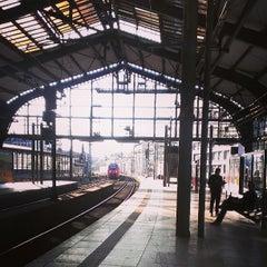 Photo taken at Bahnhof Berlin Friedrichstraße by Nicole W. on 6/7/2013