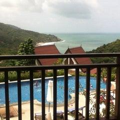 Photo taken at Baan Kantiang Villa Resort by AZ S. on 8/2/2014