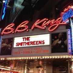 Photo taken at B.B. King Blues Club & Grill by Rey M. on 1/20/2013