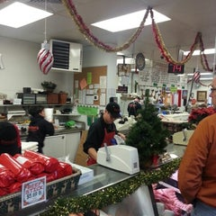 Photo taken at Gartner's Country Meat Market by Josh B. on 12/21/2012
