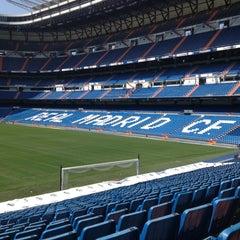 Photo taken at Estadio Santiago Bernabéu by Matheus L. on 7/20/2013