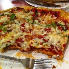Photo taken at King Slice by Andrew D. on 1/5/2013