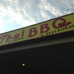 Photo taken at Thai Original BBQ & Restaurant by Flor M. on 7/2/2013