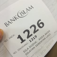 Photo taken at Bank Islam (M) Bhd by Apina on 7/17/2014
