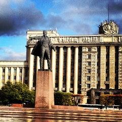 Photo taken at Московская площадь by Лена К. on 10/1/2013
