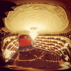 Photo taken at Teatro alla Scala by Andrea P. on 4/9/2013
