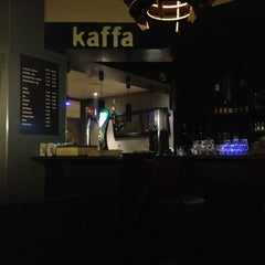 Photo taken at Kaffa Coffee Zone by Rui V. on 1/1/2013