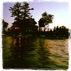 Photo taken at Thousand Island Yacht Club by Michelle S. on 7/6/2013