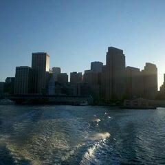 Photo taken at Golden Gate San Francisco Ferry Terminal by yo y. on 11/1/2011