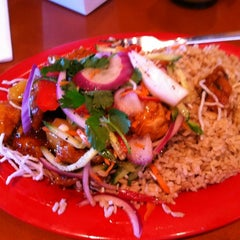 Photo taken at Pei Wei by Randy D. on 12/31/2011