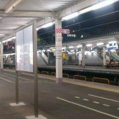 Photo taken at Toyama Station by Juner C. on 10/9/2011