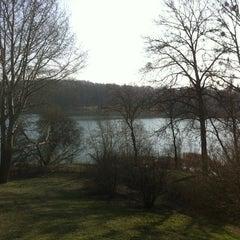 Photo taken at Schlosshotel Groß Plasten by Michael R. on 3/16/2012