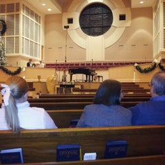Photo taken at Bluff Park United Methodist Church by Rusty T. on 12/2/2011