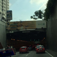 Photo taken at Jalan Tun Razak Tunnel by NAQSZADA on 5/30/2014