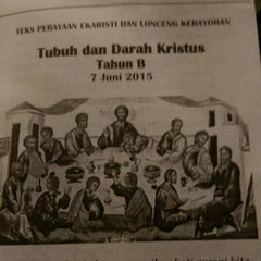 Photo taken at Gereja Katolik Santo Yohanes Penginjil by Hannah A. on 6/7/2015