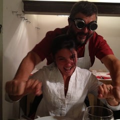 Photo taken at Antica Macelleria Cecchini by Paula S. on 10/14/2012