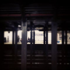 Photo taken at MTA Subway - Prince St (N/R) by Serena M. on 10/7/2012