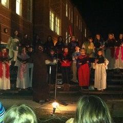 Photo taken at St. Michael the Archangel Catholic School by Jenipher F. on 12/15/2012