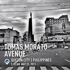 Photo taken at Tomas Morato Avenue by MuFFiN M. on 5/24/2013