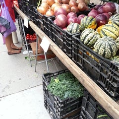 Photo taken at Foggy Bottom FRESHFARM Market by Anna J. on 10/9/2013