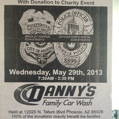 Photo taken at Danny's Family Car Wash by Suzi F. on 5/25/2013