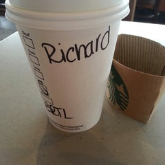 Photo taken at Starbucks by Richard L. on 3/21/2013