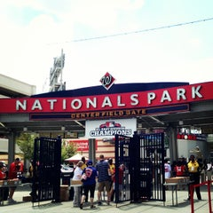 Photo taken at Nationals Park by Cassi P. on 7/26/2013