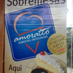 Photo taken at Amoratto Sorvetes Artesanais by Henrique A. on 12/1/2012