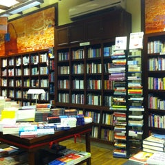 Photo taken at Diwan Bookstore | مكتبة ديوان by Magda E. on 12/31/2012