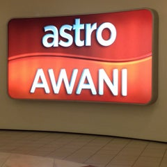 Photo taken at Astro Awani by Herleena J. on 1/4/2015