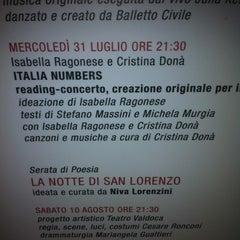 Photo taken at Museo per la Memoria di Ustica by Robertola16 on 7/31/2013